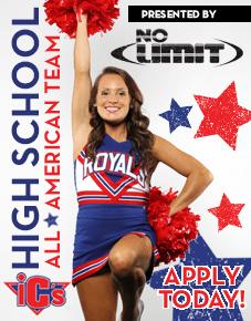 Inside Cheer High School All American Team