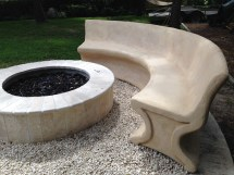 Concrete Benches And Tables - Spirit Ridge Studios