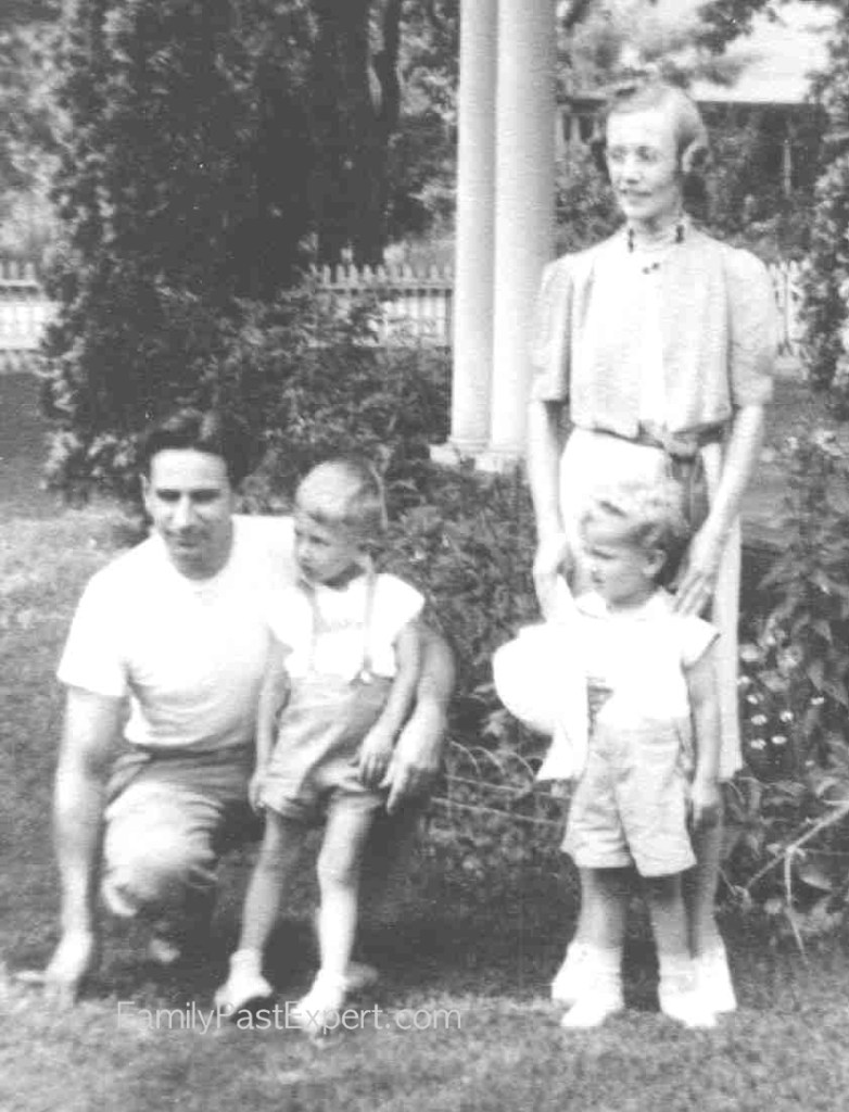 1940ca-Krueger_Norman-and-Sally-family (W)