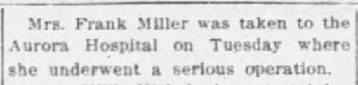 The Daily Chronicle (De Kalb, Illinois), 28 Jan 1913.