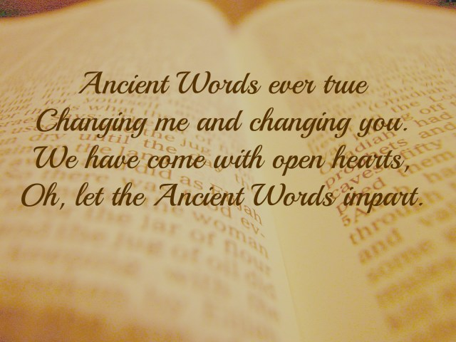 Ancient Words  A Satisfied Spirit