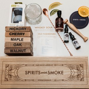 smoking cocktail kits, cocktail kits, smoking boards, smoked cocktails