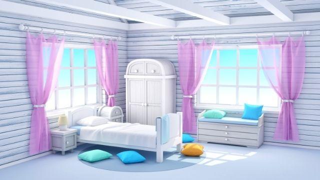 よく眠れる,寝室