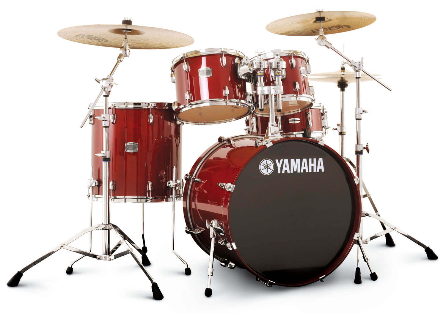 Batterie Yamaha Stage Custom Drum Red Rouge Spiritual Drummer Blog Batterie