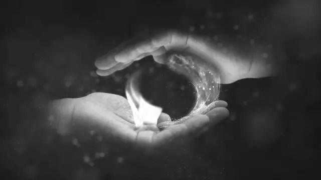 魂 光 火 炎 癒し エネルギー