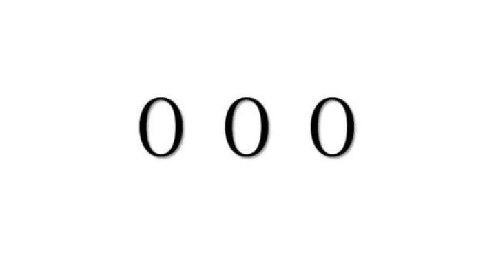 エンジェルナンバー「000」を見た時の重要な6の意味