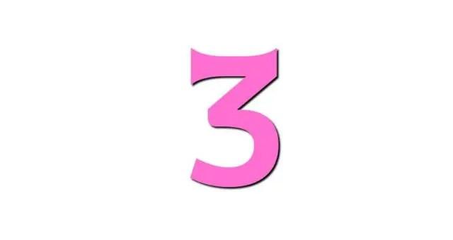 数秘術ライフパスナンバー「3」の性格・恋愛・仕事…全部解説