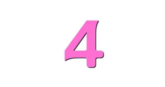 数秘術ライフパスナンバー「4」の性格・恋愛・仕事…全部解説