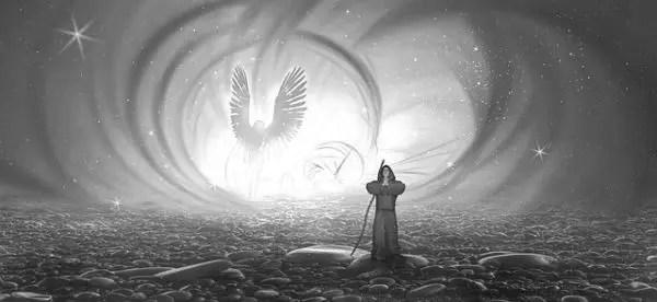 守護霊 幽霊 神秘 天使