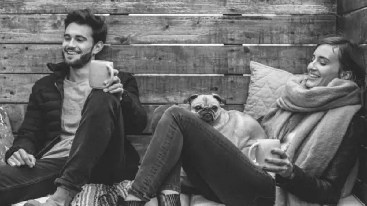 カップル 夫婦 コーヒー 会話 トーク