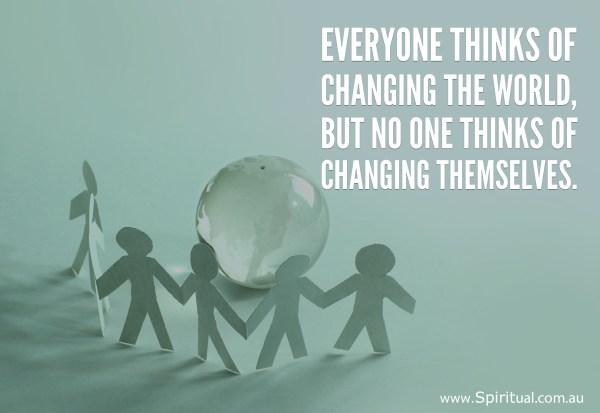 change-the-world-change-yourself