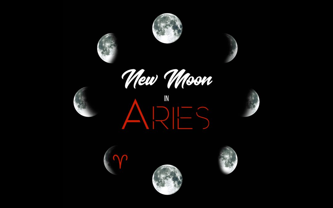 New Moon in Aries 2021: Aligning Our Thoughts & Words With Our Values