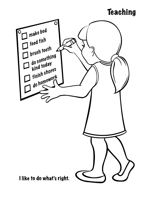 Spiritual Gifts Coloring Page Coloring Pages