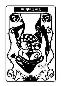 魔術師の逆位置