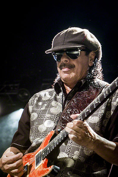 Carlos Santana 2010 in Indianapolis