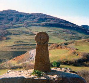 Gedenkstein Montségur