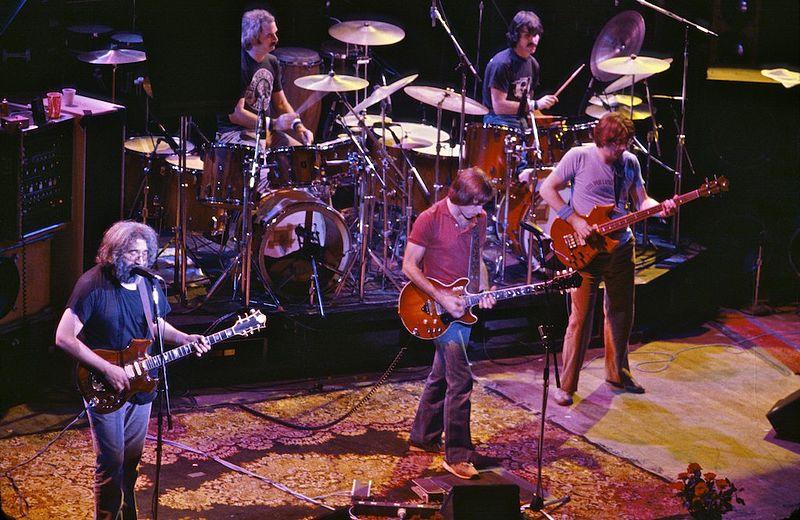 Grateful Dead 1980 in San Francisco