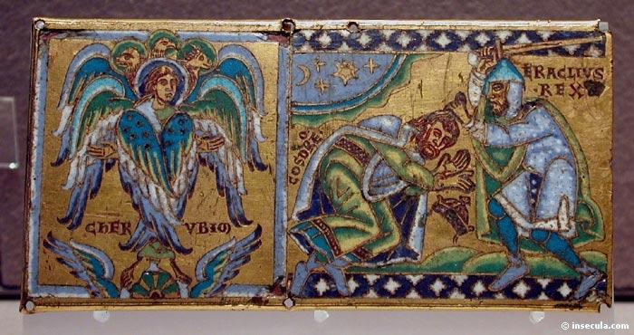 Les Saints Anges  Iconographie  Fresques et mosaques
