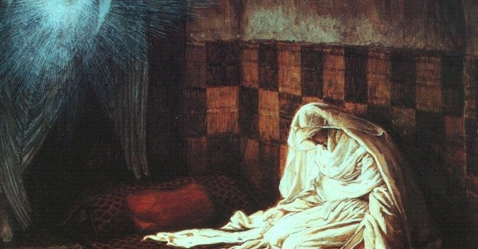 Le symbolisme psycho-spirituel de la scène de l'Annonciation