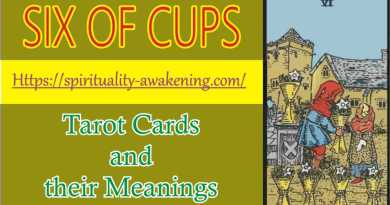 6 0f cups - six of cups