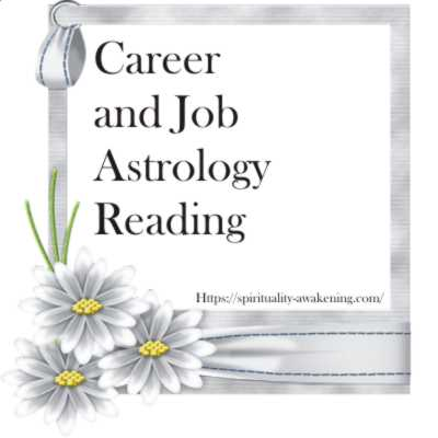Career and Job Astrology Reading