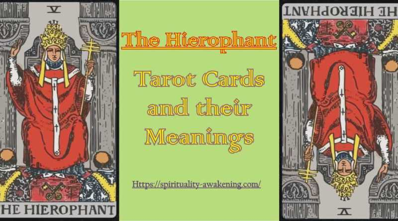 Heirophant tarot card