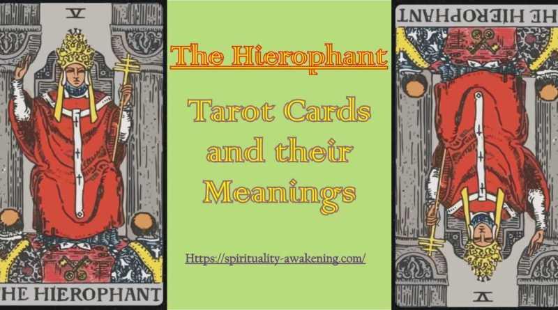 Heirophant tarot card
