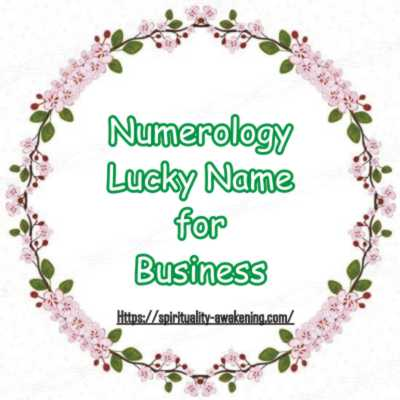 Numerology Lucky Name for Business