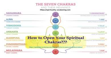 how to open your spiritual chakras