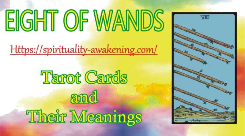 eight of wands reversed --- 8 of wands reversed