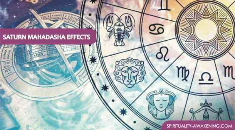 Saturn Mahadasha Effects