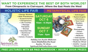 Austin Metaphysical and Holistic Life Expo - October 2018