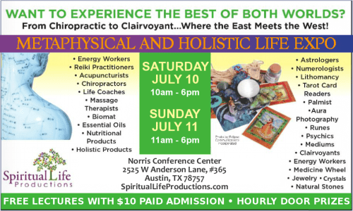 Austin Metaphysical and Holistic Life Expo - July 2021 updated2