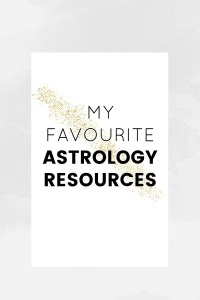 My favourite astrology resources