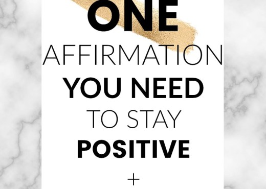 The ONE affirmation you need to stay positive and productive. Follow Spiritually.Empowered on Instagram for daily inspiration