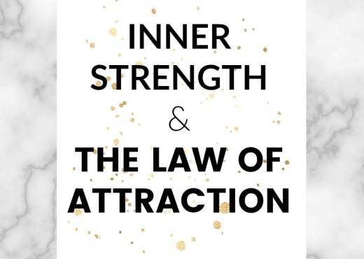The law of attraction can seem magical when you're in the flow and things are just falling into place. We're told time and time again how it can change our lives. However, something we're not told as often is how important inner strength is when it comes to the law of attraction, manifesting and self-development.