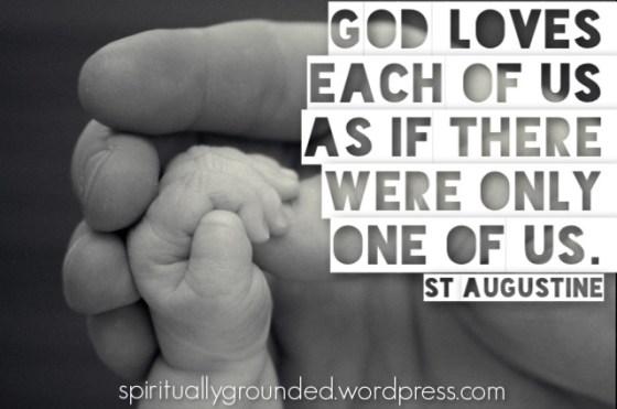 God Loves Each of Us-Augustine