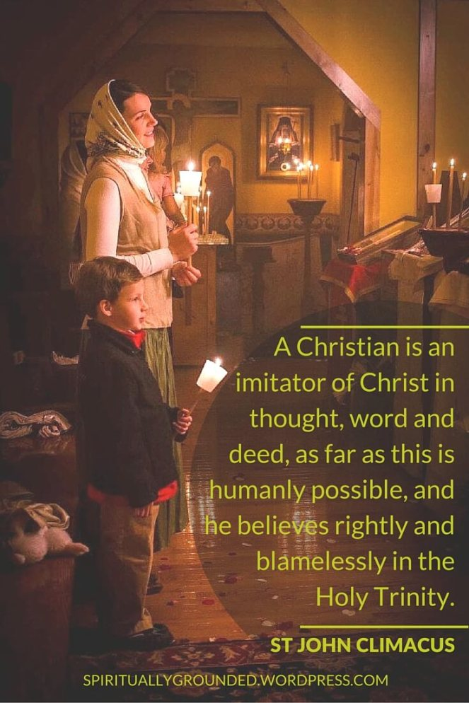 The Imitator of Christ...St John Climacus