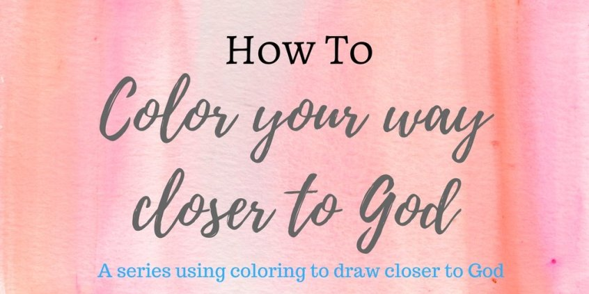 Like coloring? Join spirituallyhungry.com as we start a new devotional series based on coloring Scripture, where you get to color along! This series is intended to help you grow closer to God by praying and meditating on the Scripture as you color.