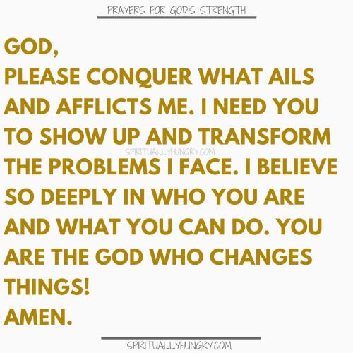 Prayers For Strength In Jesus | Prayers For Strength In Jesus