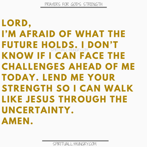 Prayers To Be Strong In Jesus | Prayer To Be Strong In Jesus