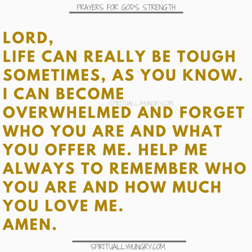 Prayers To Be Strong In Christ | Prayer To Be Strong In Christ