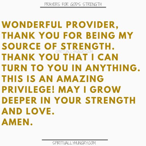 Strength In Christ | Strength Of God | God's Strength | Prayer For Strength