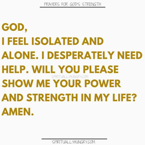 Prayers For Finding God's Strength | Prayer For Finding God Strength