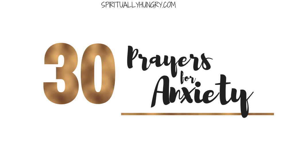 Prayer For Anxiety