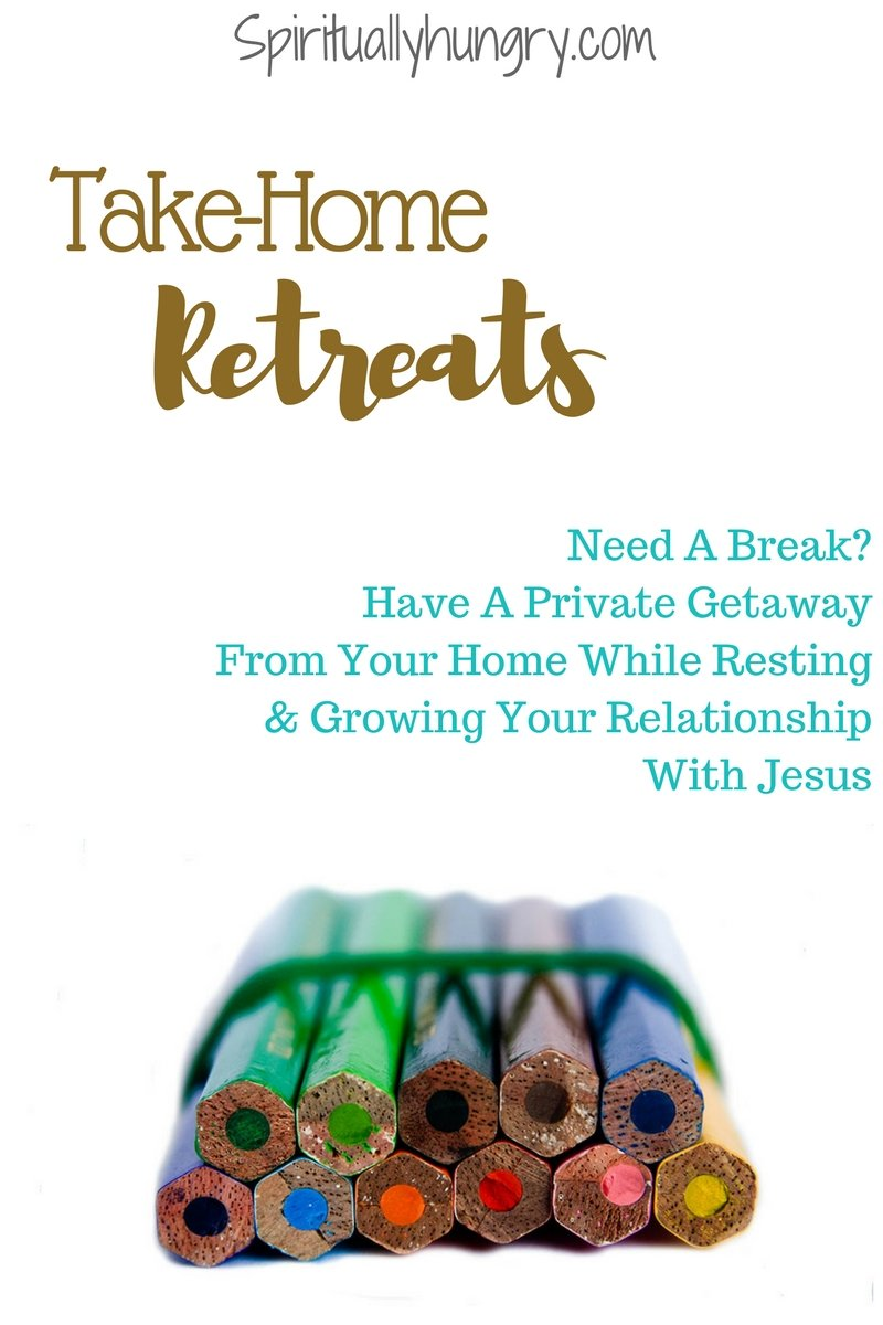 Need some time away, why not try a Take-Home Retreat. Fun, Inspirational and enjoyable. Relax, rest and grow closer to God!