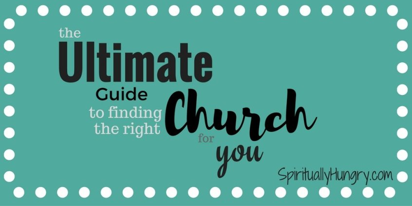 How To Find A Church