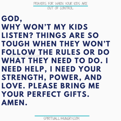 Prayers For Parents | Prayers For Parenting