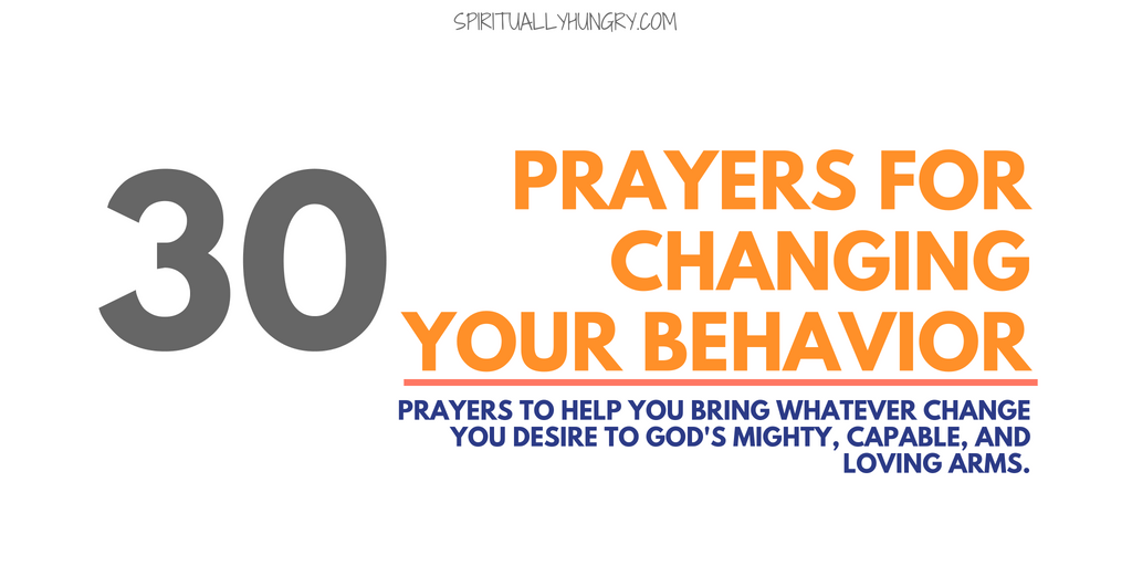 Prayer For Change