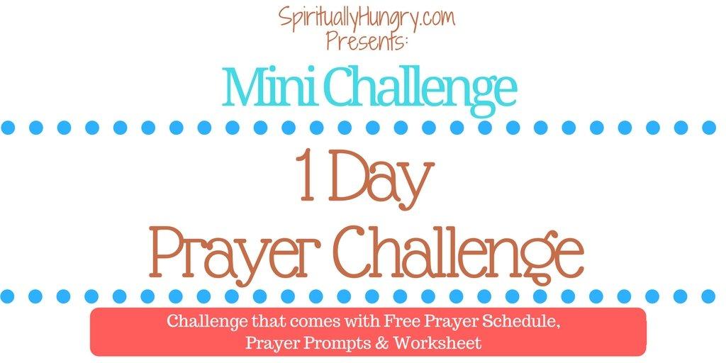 1 Day Prayer Challenge